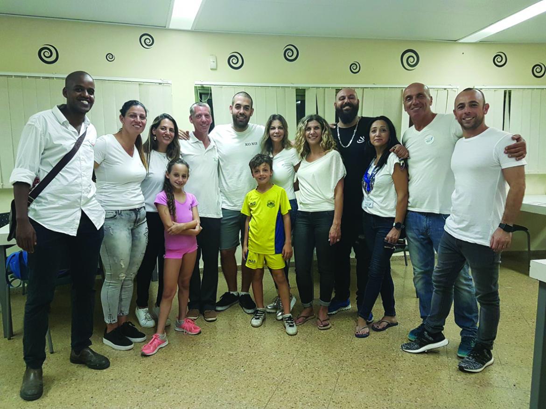 מעולה אירוע מרגש ב״איש שלום״ המשלב עשייה ונתינה לזולת - חינוך ונוער במה UU-41